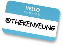Twitter the new business card