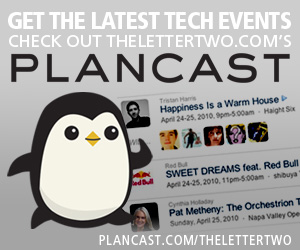 Get the latest tech events on TheLetterTwo.com's Plancast