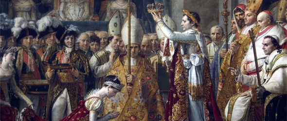 Consecration of the Emperor Napoleon I and Coronation of the Empress Josephine in the Cathedral of Notre-Dame de Paris on 2 December 1804