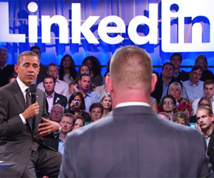 Obama LinkedIn Town Hall