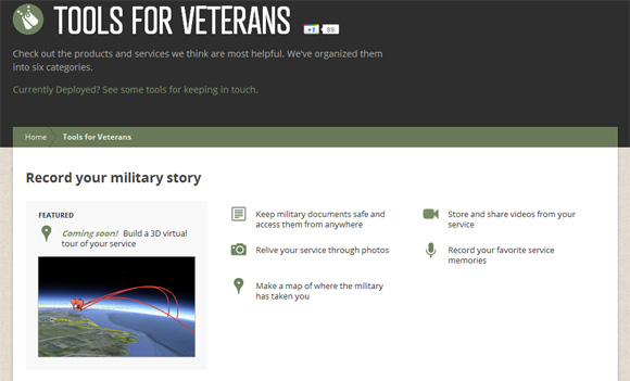 Google for Veterans