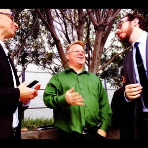 Apple iPhone5 announcement: Mashable's Lance Ulanoff, Rackspace's Robert Scoble, and The Verge's Joshua Topolsky