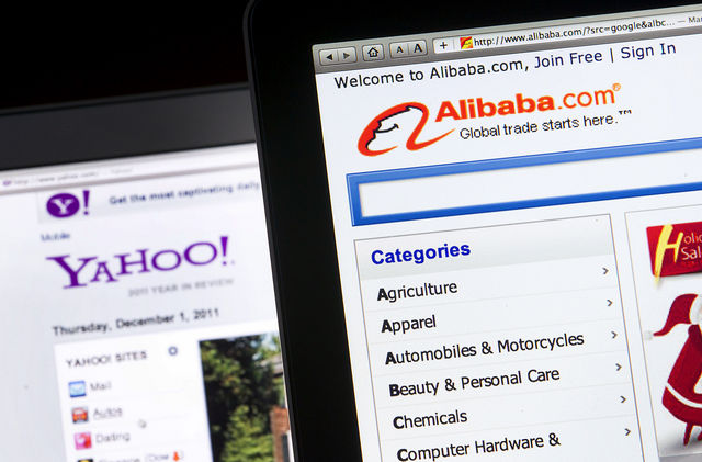 Alibaba and Yahoo