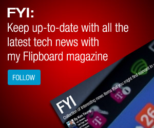 Keep up-to-date with the latest tech news on my Flipboard magazine