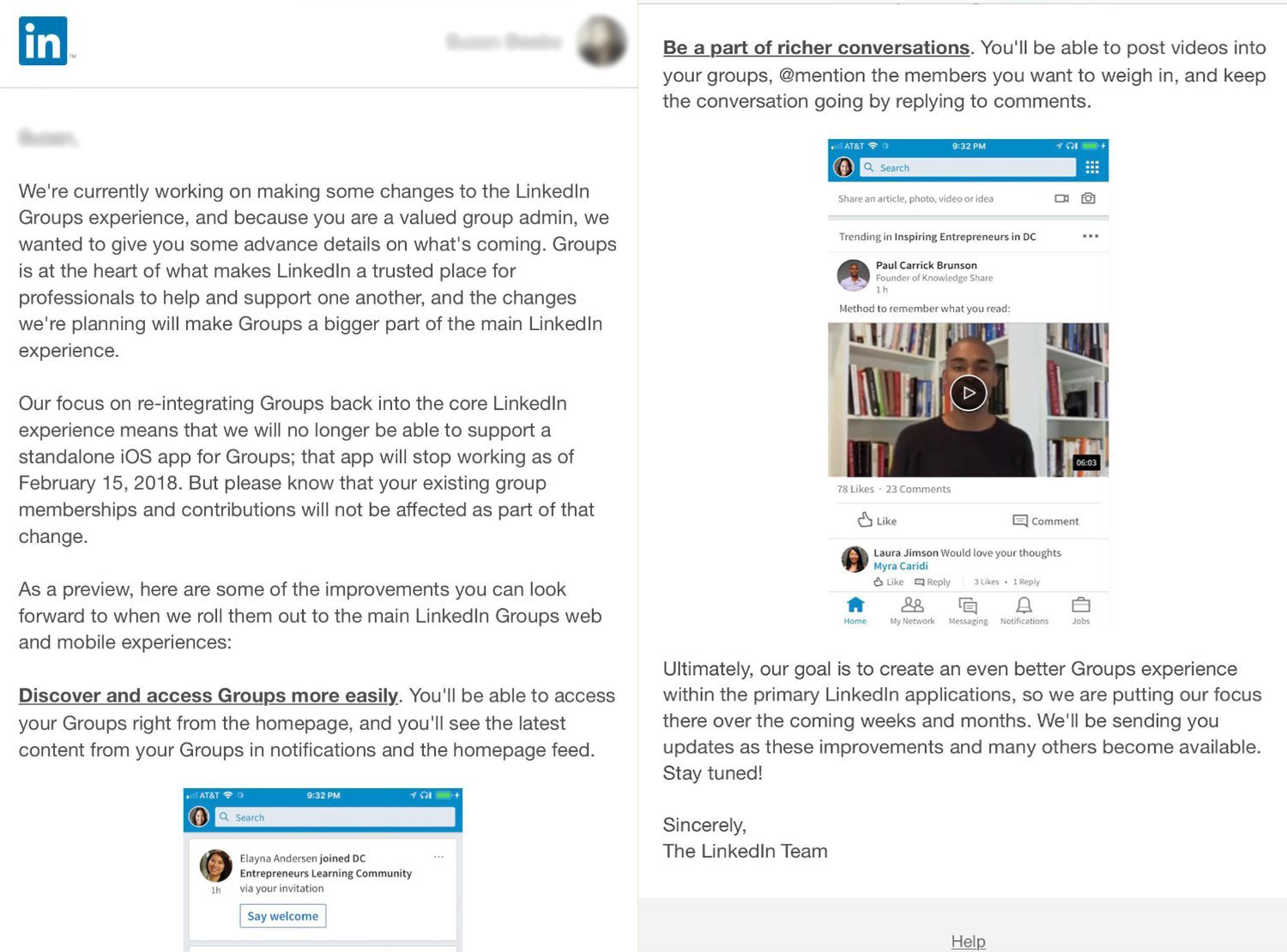 LinkedIn To Place Larger Focus on Groups, Shutters Standalone App