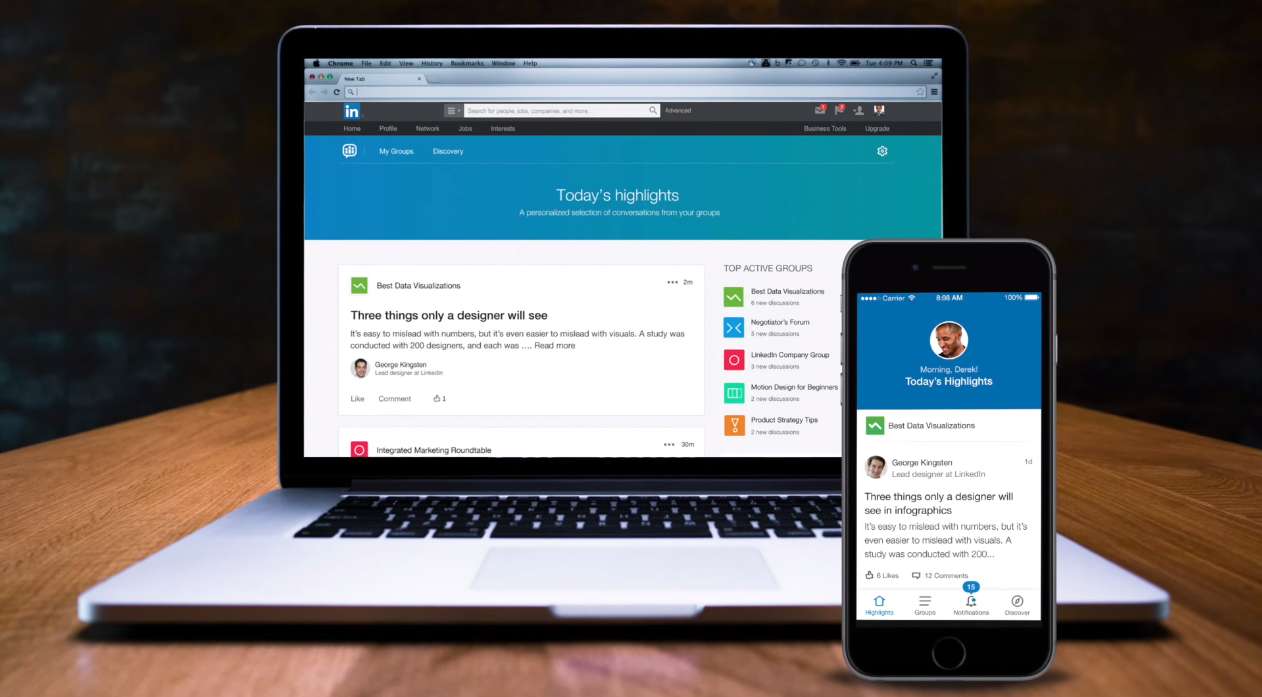 LinkedIn To Place Larger Focus on Groups, Shutters